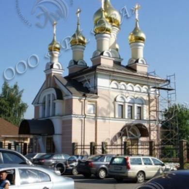 Храм иконы Божией Матери Неувядаемый Цвет в г. Московский, МО