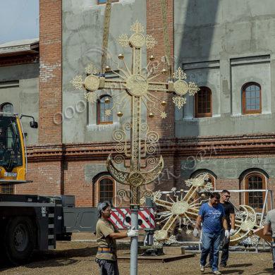 Изготовление, производство, золочение крестов