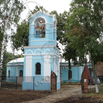 Фасады колокольни
