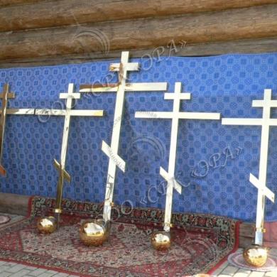Изготовление крестов для Церкви во имя Божией Матери «Спорительница Хлебов»