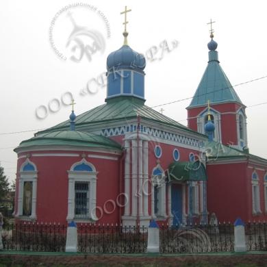 Реставрация Храма Архистратига Божия Михаила, храм до реставрации