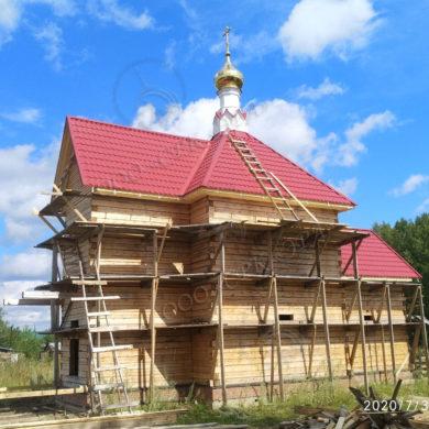 Изготовление купола для строящегося храма Архистратига Божия Михаила